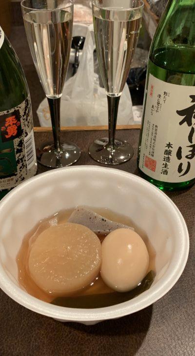 おでん&地酒BARin名古屋栄の旅バー夢port!
