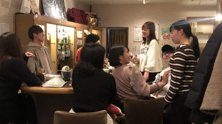 【かえるくんのUber eats BAR・まりなの合格おめでとうBAR】